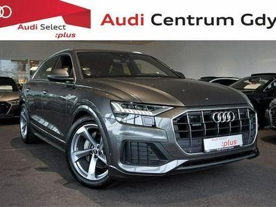 używany Audi Q8 Webasto, Wentylacja, Masaż, Oś skrętna, NightVision, Hak
