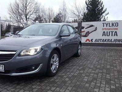 używany Opel Insignia Country Tourer 1.6CDTI 136KM xenon, 1 wł, salon PL, FV 23%, gwarancja, Łódź