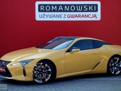 używany Lexus LC 500 Salon Polska:SUPERTURISMO z gwarancją fabryczną do VIII/2020