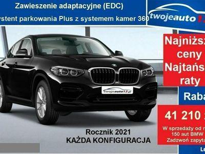 używany BMW X4 II xDrive20i, Ogrzewane fotele, Adaptacyjne LEDY, Asystent świateł