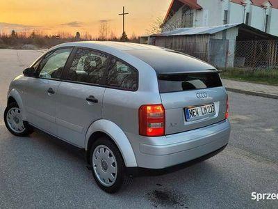 używany Audi A2 1.4B OPŁACONY Z NIEMIEC KLIMA ELEKTRYKA STAN BDB!!