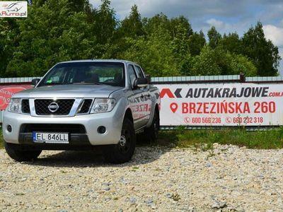 używany Nissan Navara D40 2.5dCI 190KM 4x4, 1 wł, salon PL, fvat 23%