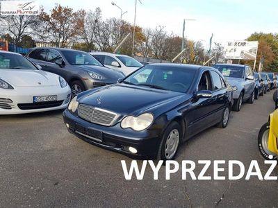 używany Mercedes C200 2.2dm3 115KM 2003r. 269 779km 2.2 CDI 125 KM, Klimatyzacja, Wielofunkcyjna kierownica, Tempomat,