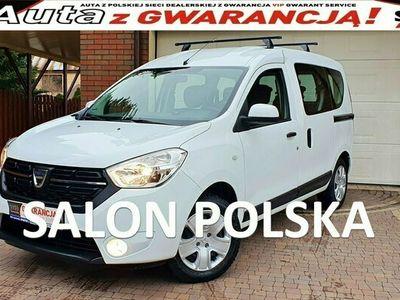 używany Dacia Dokker TYLKO 21 tys km 1.6SCE 102KM, Laureate, Salon PL Serwis ASO, F.VAT23%,