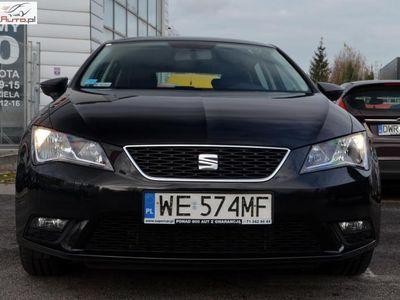 używany Seat Leon Leon 1.6dm3 110KM 2016r. 70 149km1.6 TDI Reference, 110 KM, Salon PL, FV 23%, GWARANCJA!!