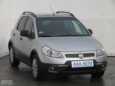 używany Fiat Sedici  Salon Polska, Serwis ASO, Przejechał tylko 47684 KM, Klima