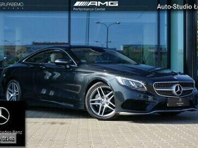 używany Mercedes 500 Klasa S W222 5004M Coupe AMG Burmester LedILS Kamera360