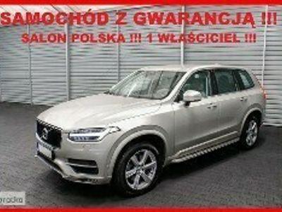 używany Volvo XC90 IV AUTOMAT + 4x4 + Salon PL + 1 WŁ + 100% Serwis !!!