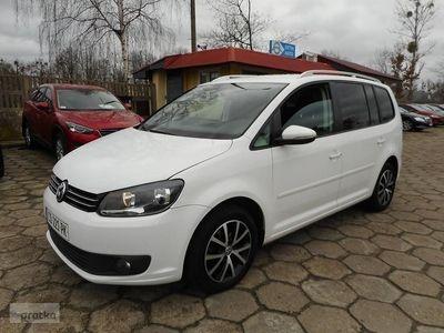 używany VW Touran 1.6dm 105KM 2012r. 131 000km
