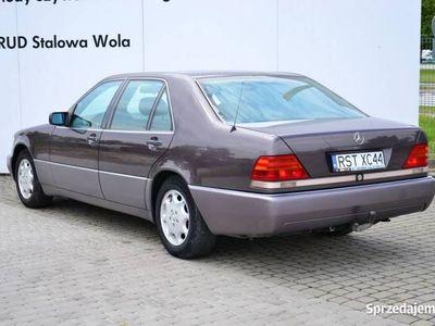 używany Mercedes S320 S 320Automat Podwójne szyby Podgrzewane fotele Klima aut. Roleta W140 (1992-1998)