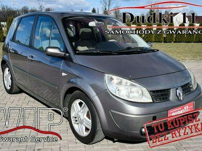 używany Renault Scénic II 2,0b DUDKI11 Klimatronic,Serwis,Hak,Parktronic,OKAZJA II (2003-2009)