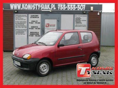 używany Fiat Seicento !! KOMIS TYSIAK !! 1.1 Benzyna,2000 rok produkcji!!KOMIS TYSIAK!!
