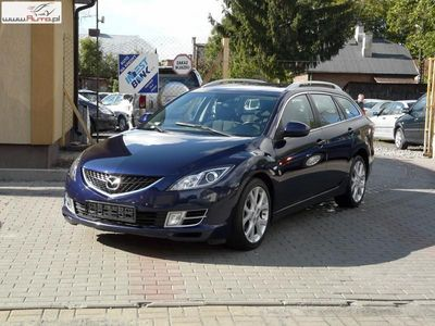 używany Mazda 6 2dm 140KM 2008r. 178 000km