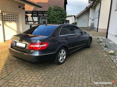 używany Mercedes E250 Avantgarde zadbany, oryginalne podzespoły