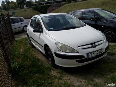 używany Peugeot 307 2001 LPG gaz benzyna 1.6