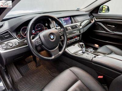 używany BMW 520 520 2dm3 184KM 2014r. 144 550km d xDrive Limuzyna | Luxury Line | Nawigacja Professional |