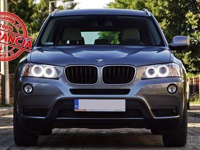 używany BMW X3 x-Drive 20d - Salon PL - 1wł. - Serwis ASO - Raty Gwarancja Zamiana F25 (2010-)