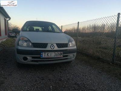 używany Renault Clio 1.2dm3 75KM 2003r. 225 500km II ABS