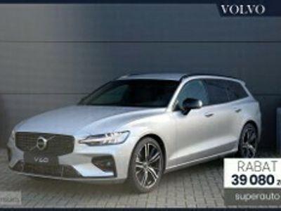 używany Volvo V60 II 2.0 B4 (197+14KM) | R-DESIGN | + Climate + Power Seats + Park Assist