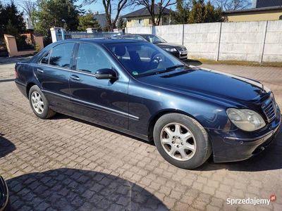 używany Mercedes S500 w220bezwypadkwy, 188 tys przebiegu