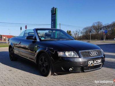 używany Audi A4 Cabriolet 2.4benzyna skrzynia manualna klimatyzacja