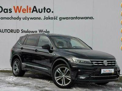 używany VW Tiguan Allspace 2.0 TDI 190KM 4Motion DSG 7os R-line Polski Salon FV 23%