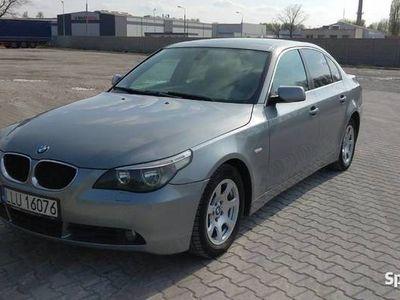 używany BMW 525 e60 d 177 koni navi klima tempomat skóry alufelgi
