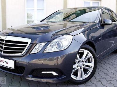 używany Mercedes 220 Klasa E W212AVANTGARDE/ Półskóry/Navi/Automat/Parktronic/BiXenon/Oryg.Km/GWA