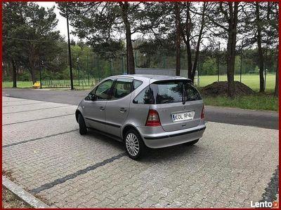 używany Mercedes A170 2002 r_1.7 CDI_Klima_Elektryka_Alumy_Długie Opłaty_Bez Korozji W168 (1997-2004)