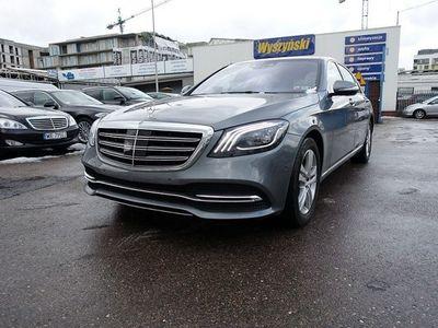 używany Mercedes S500 4dm 463KM 2018r. 21 000km