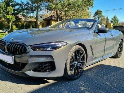 używany BMW M850 M8530KM Cabrio PL Salon F Vat 4 letnia Gwarancja Zamiana