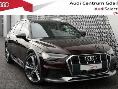 używany Audi A6 Allroad 55TDI 349KM  Hak Skrętna oś Dach Panoram Domyk Drzwi