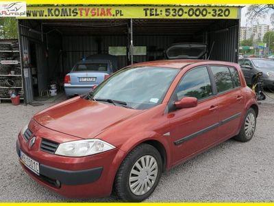 used Renault Mégane 1.6dm3 113KM 2003r. 120 000km !!! Bemowo !!! 1.6 Benzyna, 2003 rok !!! KLIMA, ELEKTR. SZYBY !!!