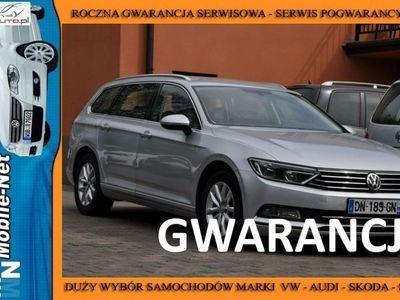 używany VW Passat 1.6dm3 105KM 2015r. 203 000km 1,6TDI Nawi Multi PDC Alum Gwarancja