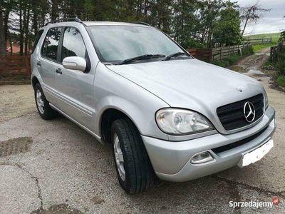 używany Mercedes ML270 anglik manual zarejestrowany w Polsce