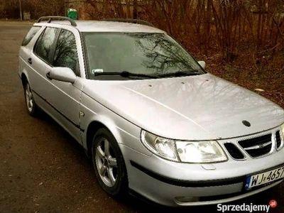 używany Saab 9-5 2,2 dti 2002r tanio