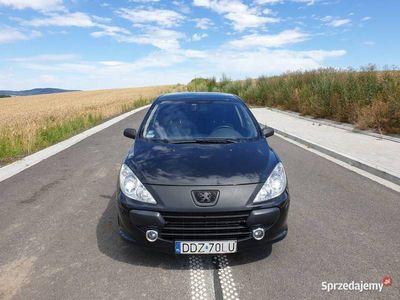 używany Peugeot 307 1.6 HDI 109KM, POLIFT, Czarny, SPORTY