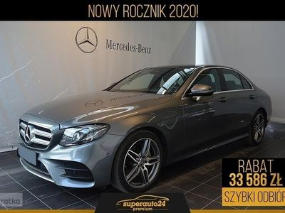 używany Mercedes 220 Klasa E W213 2.04MATIC (194KM) | AMG + Premium Plus + Kamera 360