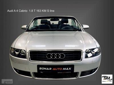 używany Audi A4 Cabriolet A4 II (B6) 1.8 T 163 KM S line