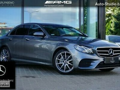 używany Mercedes E200 Klasa200 4M AMG BlindSpot KameraCofania Tempomat AmbientLed