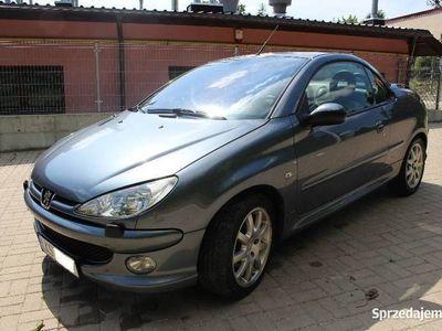 używany Peugeot 206 CC 1.6 HDI 2005 rok diesel cabrio klima skóra