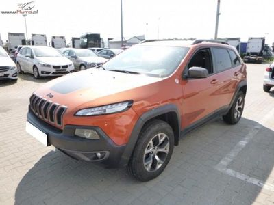 brugt Jeep Cherokee Cherokee 3.2dm3 272KM 2015r. 27 616km3.2 V6 Active Drive Lock Trailhawk aut FV 23%, Gwarancja