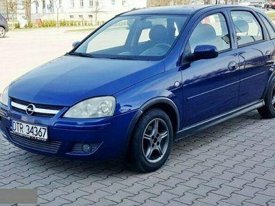 używany Opel Corsa 1.2dm 80KM 2005r. 214 000km