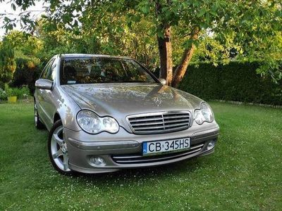 używany Mercedes C180 w203+LPG super stan oryginalny lakier