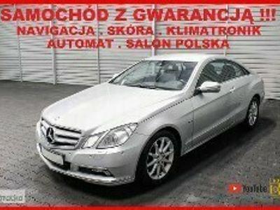 używany Mercedes 250 Klasa E W212AUTOMAT + Salon POLSKA + Navigacja + Skóra + Klimatronik !!!