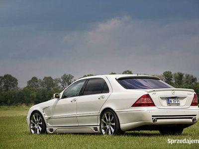 używany Mercedes S500 LORINSER