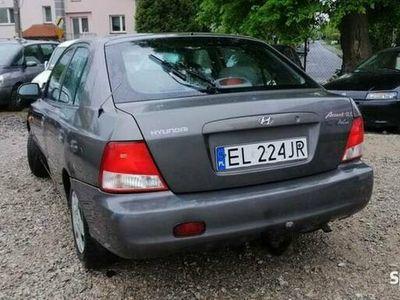 używany Hyundai Accent 1.5 benzyna 2002 Klima Hak ZAMIANA SKUP