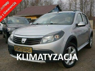używany Dacia Sandero Stepway 1.6 87 KM rewelacyjny stan, potwierdzony przebieg, KLIMA