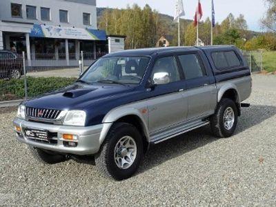 używany Mitsubishi L 200 II 2.0TDI 100KM 4x4 Reduktor Blokada Klima Stan BDB