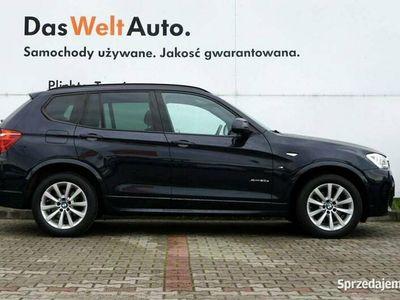 używany BMW X3 2,0 Xdrive 190KM Mpakiet 4x4 Navi Pod.fotele Kamera Salon PL FV23%
